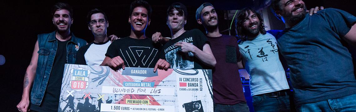 Blinded for Lies ganadores METAL en LALAcore 016